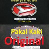 harga Emblem Original Logo Daihatsu All New Xenia Merah Untuk Grill Depan Tokopedia.com