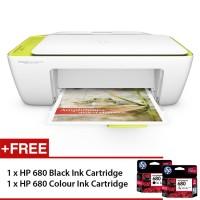 Printer HP Deskjet 2135 Ink Advantage - New Original Plus/Free Tinta