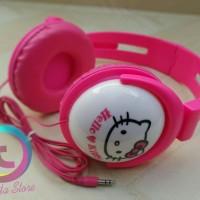 harga Headphone Karakter Hello Kitty Pink Tokopedia.com