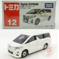 Tomica Reguler 12 Toyota Alphard