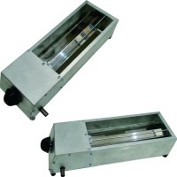 panggangan sate gas / bakaran sate gas / griller 26cm plat