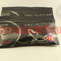 Authentic COIL MASTER Pro COTTON Anti DRY BURN Organic Vapor Cotton