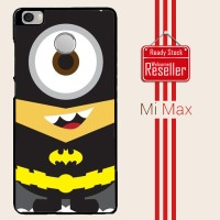 Despicable Minion Batman 3 F0367 Xiaomi Mi Max Casing Premium Hardcas