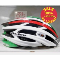 HELMET SELEV XP grn/wht/red