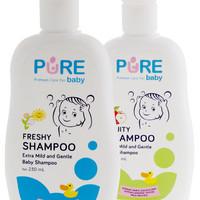 Shampoo FRUITY Pure Baby Shampo Bayi 230ml