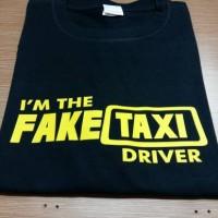 kaos/t shirt gildan fake taxi driver