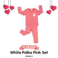 pajamas baju tidur baby girl bayi perempuan 3 s/d 18 bulan pakaian set