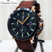 Jam tangan ALEXANDRE CHRISTIE AC 9200 NMC (BRG) Night Vision