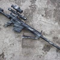 harga airsoft gun spring sniper m82 popor tarik camp style Tokopedia.com