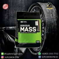 harga Optimum Nutrition Serious Mass 12 Lb Whey Protein Tokopedia.com