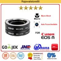 Meike Macro Extention Tube For Canon EOS M10/M3/M2/M