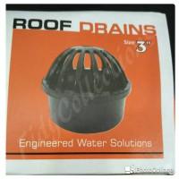 """ROOF DRAIN / SARANGAN TALANG UK. 3"""" PVC TEBAL KUAT"""