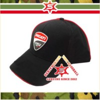 Topi Baseball Cap / Topi Pria Bordir Ducati Corse MotoGP forTopi Hita