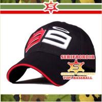 Topi Baseball Cap / Topi Pria Bordir 99 lorenzo Ducati forTopi Hitam