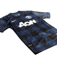 Authentic Jersey Adidas Manchester United 2013 - 2014 Away