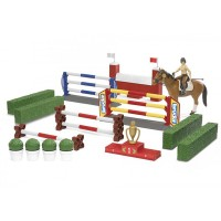 harga Bruder 62530 Large Show-jumping Course W/ Female Rider&horse - Mainan Tokopedia.com