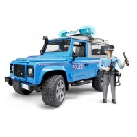 harga Bruder 2597 Land Rover Defender Station Wagon Police Vehicle - Mainan Tokopedia.com