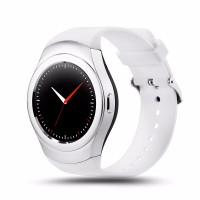 Smartwatch K8 Full White Silver Android Watch Program