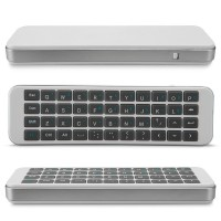 Mini Keyboard iPazzPort & Silicone Case For Remote TV (Newest Model)