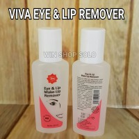 VIVA EYE & LIP MAKE UP REMOVER / PEMBERSIH MAKE UP