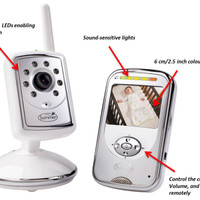BEST QUALITY Baby Monitor Summer Infant Slim & Secure Plus Digital Vid