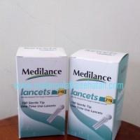 Jarum Bekam Lancet Medilance 21G Murah