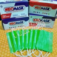 Masker Karet Neomask Lime Green