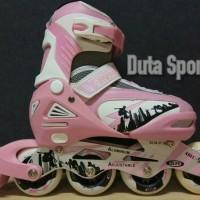 Sepatu Roda Anak Roda Karet Harga Murah Street Runner ( Pink ) a237b427be