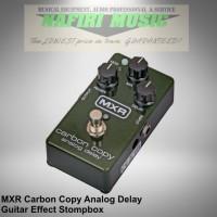 MXR M169 Carbon Copy / MXR Carbon Copy Analog Delay 100% baru original