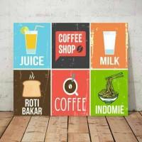 kedai kopi/hiasan kafe/kitchen decor