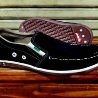 Sepatu Pria Kickers Cooplay Slop Kulit Suede Santai Casual Slipon #4