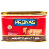 Pronas Kornet Daging Sapi 198 gr (halal)