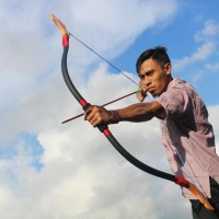 Horse Bow FIGHT BACK PVC Premium