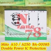 Baterai Mito Impact A10 Android One Ba-00085 Rakkipanda Double Power