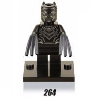 Black Panther 264 T'Challa Marvel Super Heroes Civil War Avengers Lego