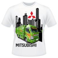 KAOS MOBIL TRUCK MITSUBISHI / KAOS OTOMOTIF