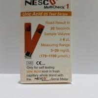 Jual Strip Nesco Uric Acid (Asam Urat) - Refill Murah