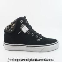 16a6901cf3  DISKON  Vans Authentic HI 2 Furry Leopard Black White ORIGINAL