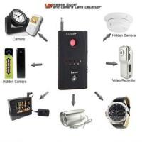 RF Bug Detector+Lens Finder (Alat pelacak alat sadap)