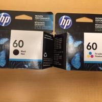 Cartridge Tinta HP 60 Black & Color Original
