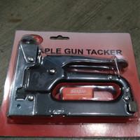 Harga promo staple staples steples gun jok tembak 4 14mm   Pembandingharga.com