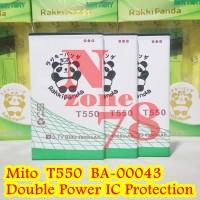 BATERAI MITO T550 BA-00043 RAKKIPANDA DOUBLE POWER