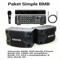 paket sound system karaoke BMB 10rb lagu