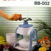Ice Shaver Manual / Alat Serut Es Batu BB-002