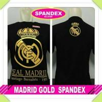 Kaos distro bola Real Madrid gold 1