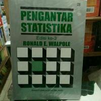 Buku Pengantar Statistika - Ronald E. Walpole