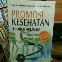 Buku Promosi Kesehatan - Soekidjo Notoatmodjo,S.K.M.,.H.