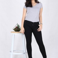 Jual Celana Pensil Wanita Jeans Big Size 3107 Murah