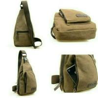 Tas Selempang Keren Original Pria Fashion Pria tas Shoulder Bag Canvas