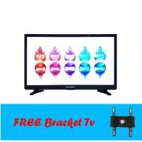 Led Tv 24 Inch Polysonic 2400 - Hitam Free Bracket TV